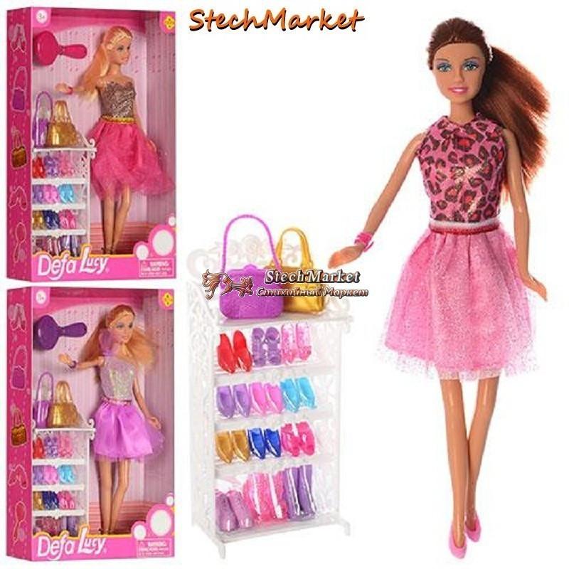 """Кукла DEFA 8316 """"Модница"""" 29см"""