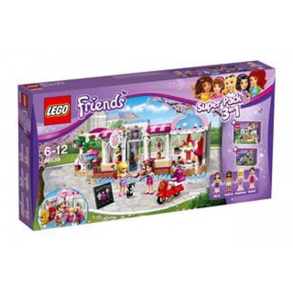 Lego Friends Друзья Комбинированный набор 3 в 1 66539