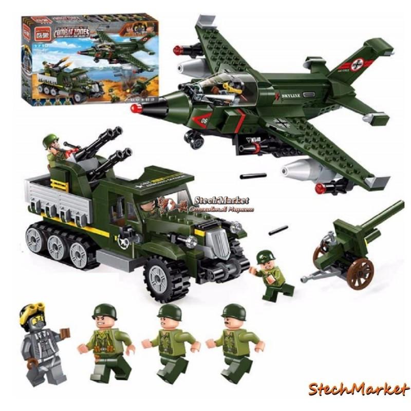 """Конструктор """"Авианалет"""" 1710 Brick 223 деталей"""