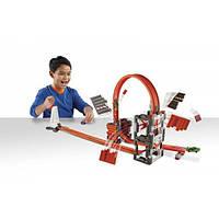 Hot Wheels трек Ударная Волна серии Track Builder Construction Crash Kit DWW96