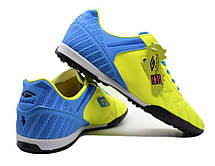 Сороконожки футзалки жовто синього кольору, фото 3