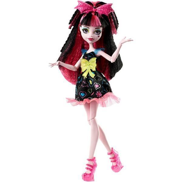 Monster Дракулаура из серии Под напряжением High Electrified Hair-Raising Ghouls Draculaura Doll
