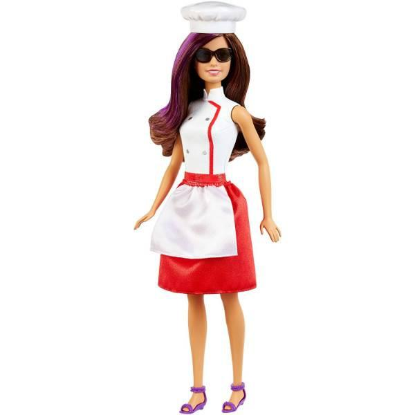 Barbie Барби Тереза повар секретный агент Spy Squad Teresa Doll  DKN02
