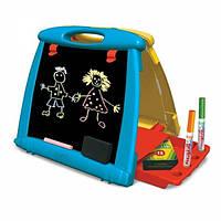 Crayola Настольный двусторонний переносной мольберт Art-To-Go Table Easel, фото 1