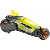 Hot Wheels Машинка Турбоскорость желтая Speed Winders Twisted Cycle Vehicle Yellow, фото 1