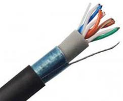 Кабель витая пара Atcom (13426) Premium FTP cat5e, 4х2х0,5мм, медь, для внешних работ PVC+PVE, 305м