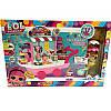 Игровой набор с куклой LOL PC 2345 36 деталей с тележкой, фото 2