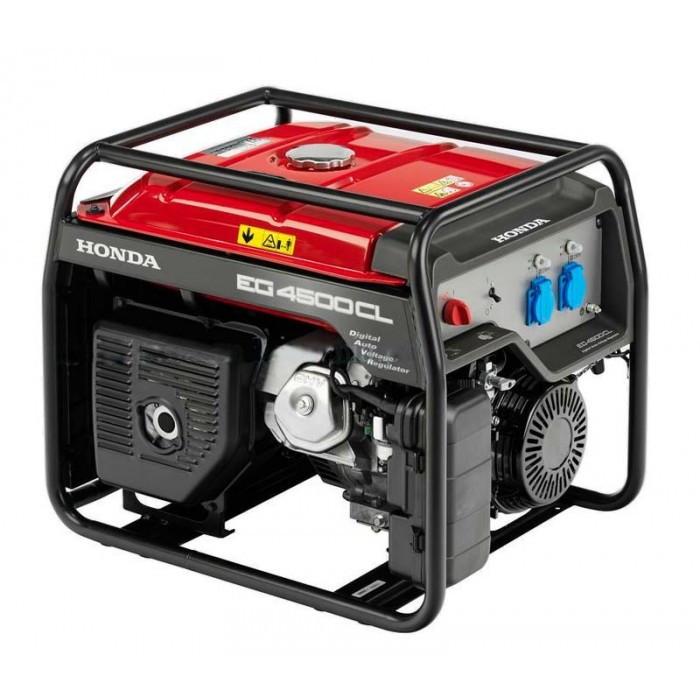 Однофазный бензиновый генератор HONDA EG4500CL (4,5 кВт)