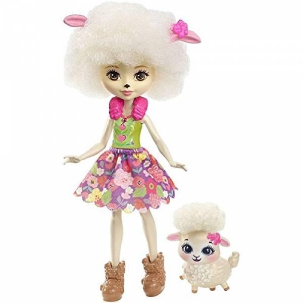 Enchantimals куколка с питомцем Лорна Ламб Lorna Lamb Doll
