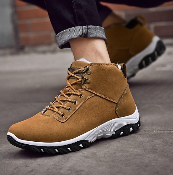 Теплые мужские кроссовки. Модель 8341