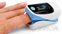 Пульсометр на палец JZIKI электронный JZK-303 (oximeter) OLED дисплей Пульсоксиметр