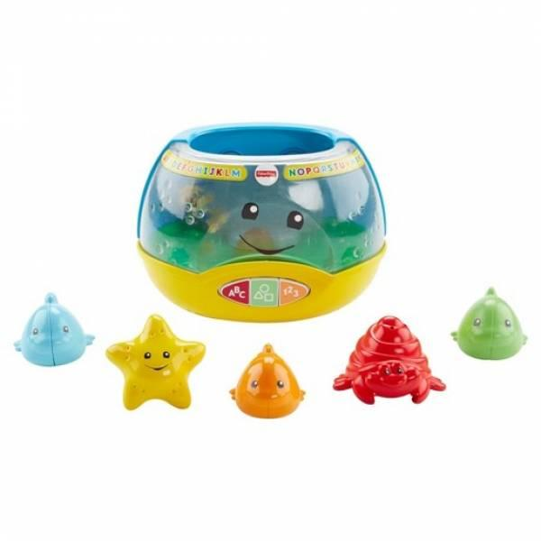 Fisher-Price Смейся и учись веселый аквариум Laugh & Learn Magical Lights Fishbowl