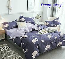 Детский полуторный комплект постельного белья Funny sheep