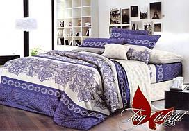 Семейный комплект постельного белья - ренфорс с компаньоном R1858