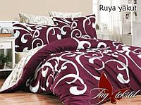 Семейный комплект постельного белья - ренфорс с компаньоном Ruya yakut