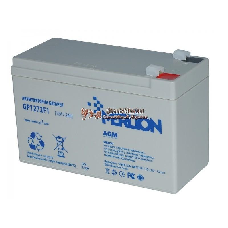 Аккумуляторная батарея 12V 7,2Ah MERLION ( 150 x 65 x 95 (100) Q8
