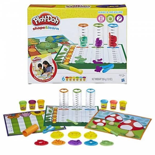 Play-Doh Обучающий набор Сделай и замерь Shape & Learn Make & Measure