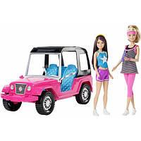 Barbie Барби с сестрой на внедорожнике CML25 Sisters' Moments Hiking Adventure Dolls and Vehicles, фото 1