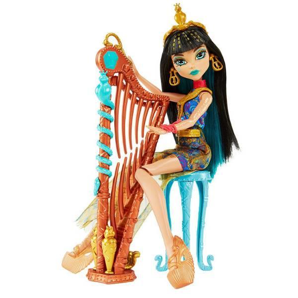 Monster High Клео де Нил Музыкальный Класс Music Class Cleo Doll