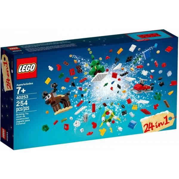 Lego Iconic Рождественские Идеи 24 в 1 40253 Christmas Build Up