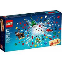 Lego Iconic Рождественские Идеи 24 в 1 40253 Christmas Build Up, фото 1