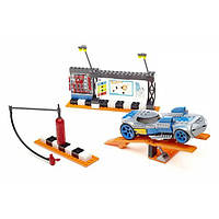 Mega Bloks Конструктор трек пит стоп Hot Wheels Speed Race Pit Stop 91722U