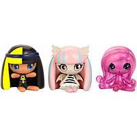 Monster High Minis Набор фигурок Клео де Нил, Рошель Гойл, Ари Хантингтон 3-pack