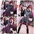 Платье-туника женская модная с люрексом размер универсальный 42-52 купить оптом со склада 7км Одесса, фото 2
