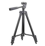 Штатив для фотоаппарата трипод 3120A Black  и чехол