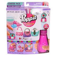 Moose Застывающий пластилин Сумочки Poppit S1 Starter Kit Mini Handbags, фото 1