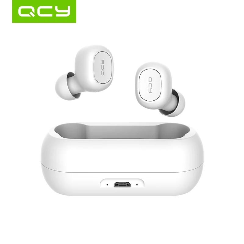 QCY T1, qcy qs1 Полностью раздельные Bluetooth 5.0 наушники