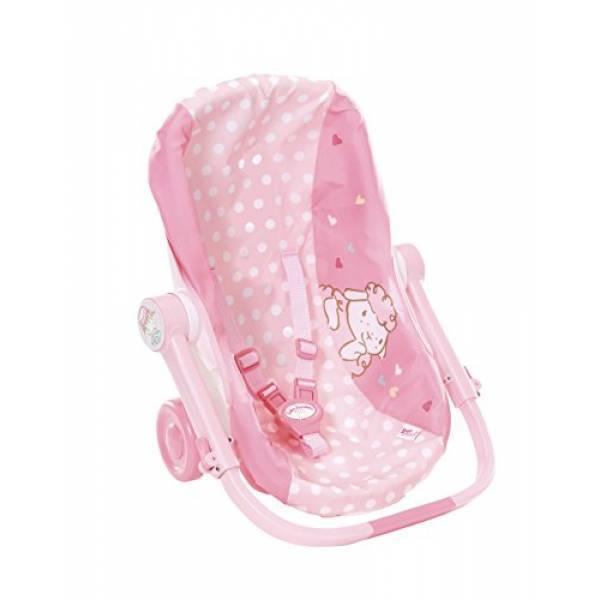Zapf Кресло люлька переноска автокресло для куклы пупса Бэби Аннабель Baby Annabell 700709 Travel Seat