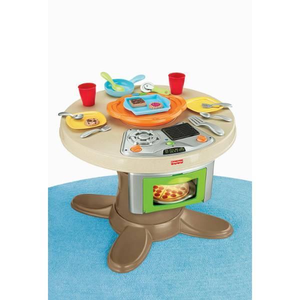 Fisher-Price Развивающая кухня столик со звуками Servin' Surprises Kitchen Table