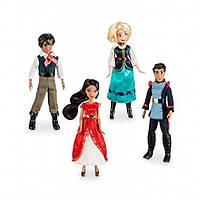 Disney Набор из 4 мини кукол Елена из Авалора Elena of Avalor Elena of Avalor Mini Doll