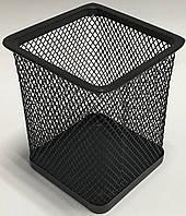 Подставка для ручек металлическая сетка 3545-ВК