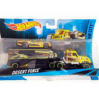 Hot Wheels Машина дальнобойщика Desert Force