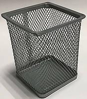 Подставка для ручек металлическая сетка 3545-S