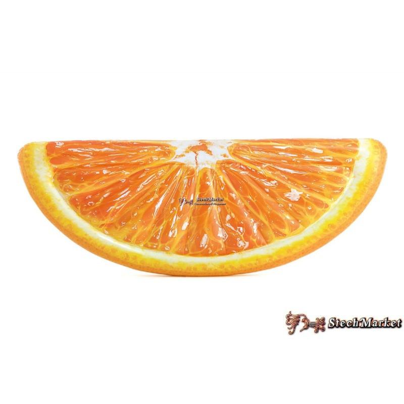 """Надувной матрас """"Апельсин"""" 58763 EU Intex 178х85см"""