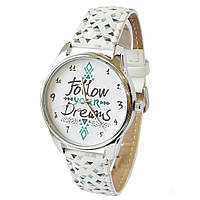 Стильные наручные часы Follow your dreams ZIZ (Украина)