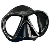 Маска для плавания Mares X-VU; чёрная