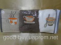Комплект полотенец Cofe 6 шт 30х50 100%  cotton махра кухня  Турция  pr-111