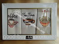 Набор вафельных полотенец Mercan 3шт: 50х70 Tурция , фото 1