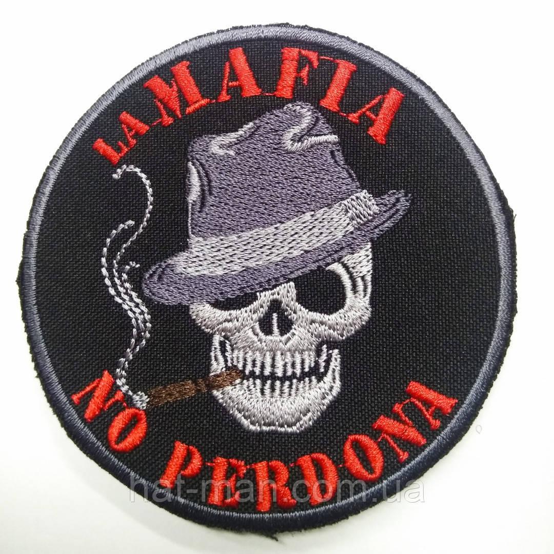 "Шеврон на липучці ""Mafia no perdona"""