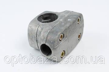 Крепление ручек к штанге в сборе (широкое) 31 мм для мотокос серии 40 - 51 см, куб, фото 2
