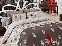 Евро комплект постельного белья - ренфорс R7081