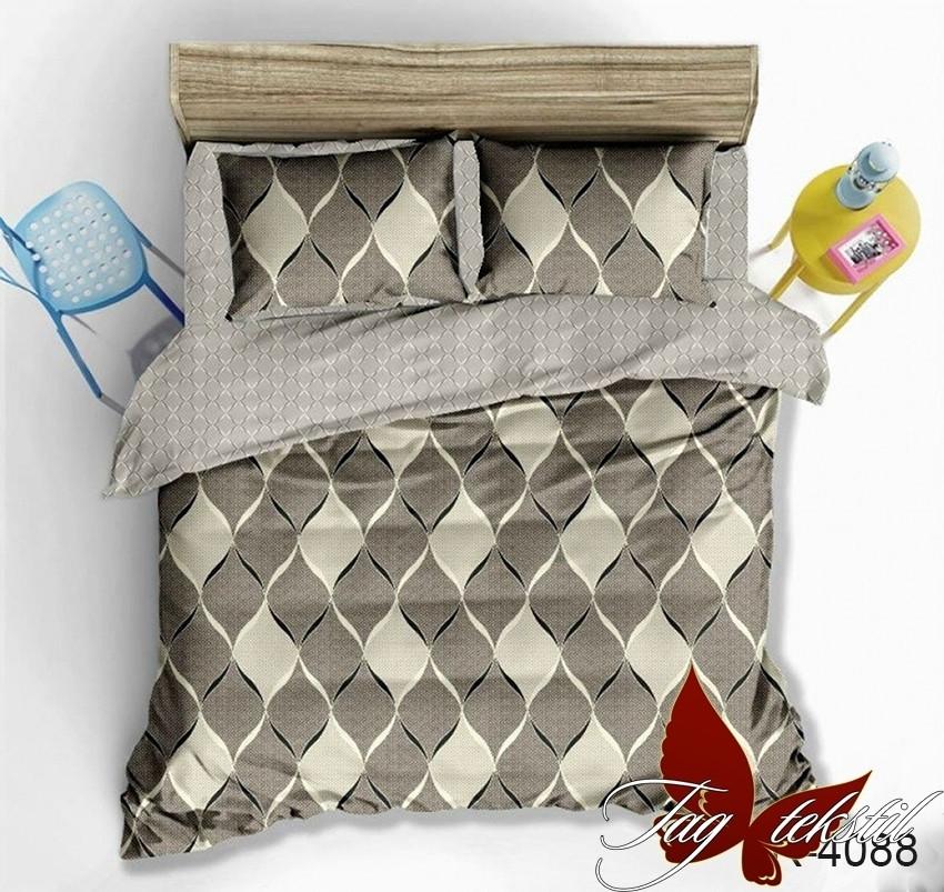 Семейный комплект постельного белья - ренфорс с компаньоном R4088