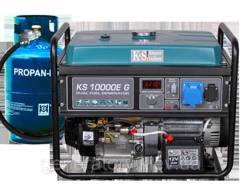 Генератор Konner&Sohnen 10000E G