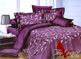 Полуторный комплект постельного белья с компаньоном S-155