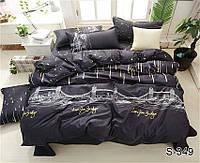 Полуторный комплект постельного белья с компаньоном S349, фото 1
