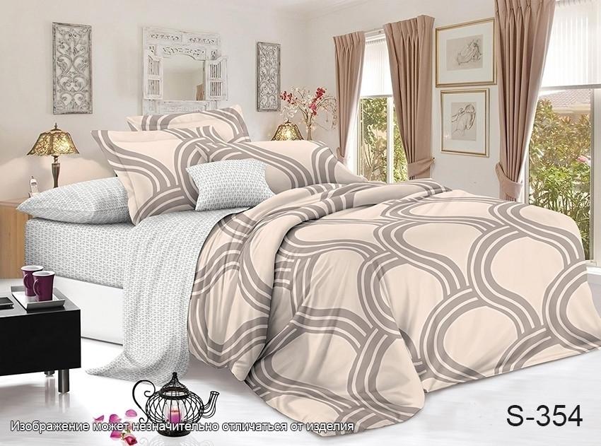 Полуторный комплект постельного белья с компаньоном S354